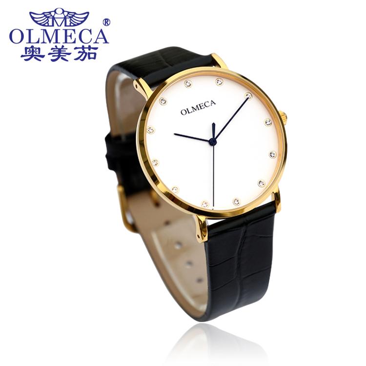 Business ultra-thin men's diamond watch